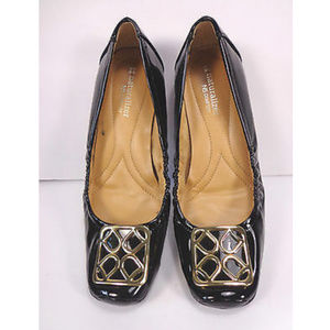 Naturalizer Comfort Vivianna Black Leather Flats